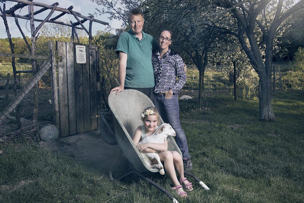 Arnold, Bernadette and Kalinka
