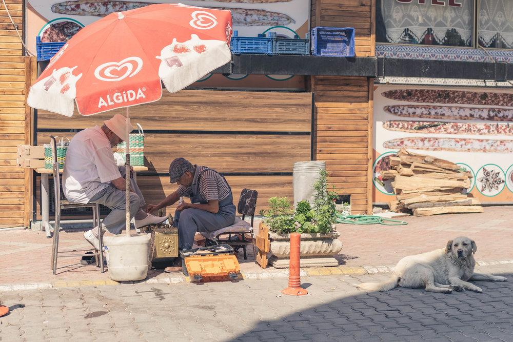 Shoe shining, Safranbolu