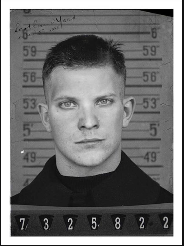 Sean's mugshot from 1948