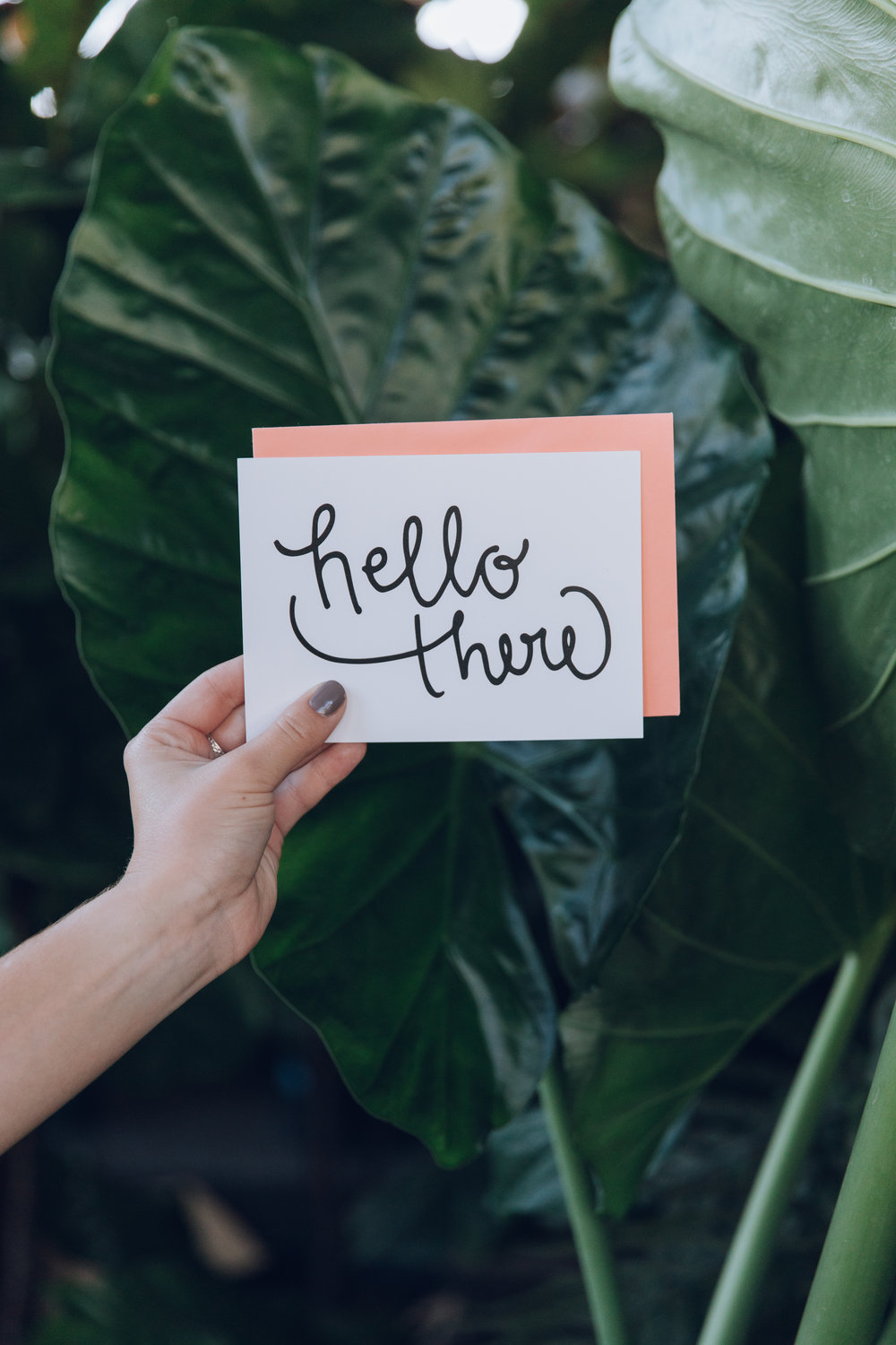 Crafted Cards with a mission.  - Our cards are hand designed by co- owner Gabrielle Storey, printed in the great state of South Carolina, and packaged and shipped with care right to your doorstep.