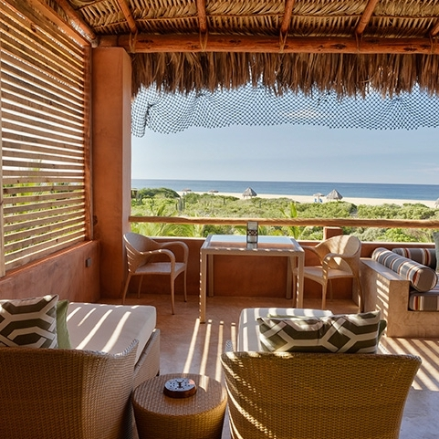 Rancho Pescadero, Todo Santos - A huge part of us wishes this wasn't adults only, and the other completely understands the distraction kids can present. There is an isolation and beauty to this less commercialized Mexican destination one hour North of Los Cabos. The town of Todo Santos is authentic and sleepy and this resort is doing everything right. If your flight into Los Cabos doesn't allow you the time to drive, consider staying one night in San Jose del Cabo at the Encanto Inn for it's proximity to old town, huge rooms and quiet pool.
