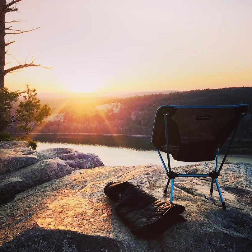 Devils Lake State Park - Book a Campsite early at Devil's Lake State Park in Wisconsin. The best sites are in the ice age loop, near or across from ~370. Hiking in Devils Lake offers the most incredible views. I recommend the East Bluff Trail to the