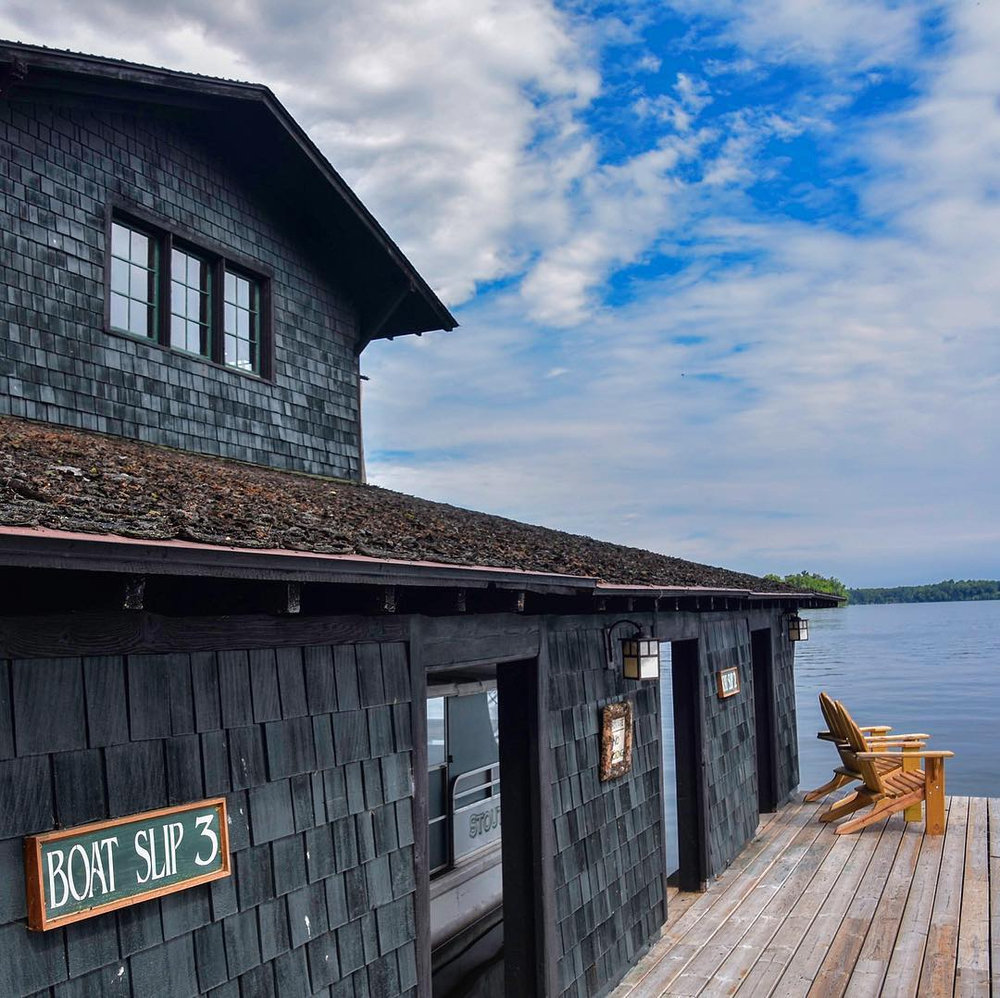 Stout's Island Lodge, Wisconsin - Rightly named the