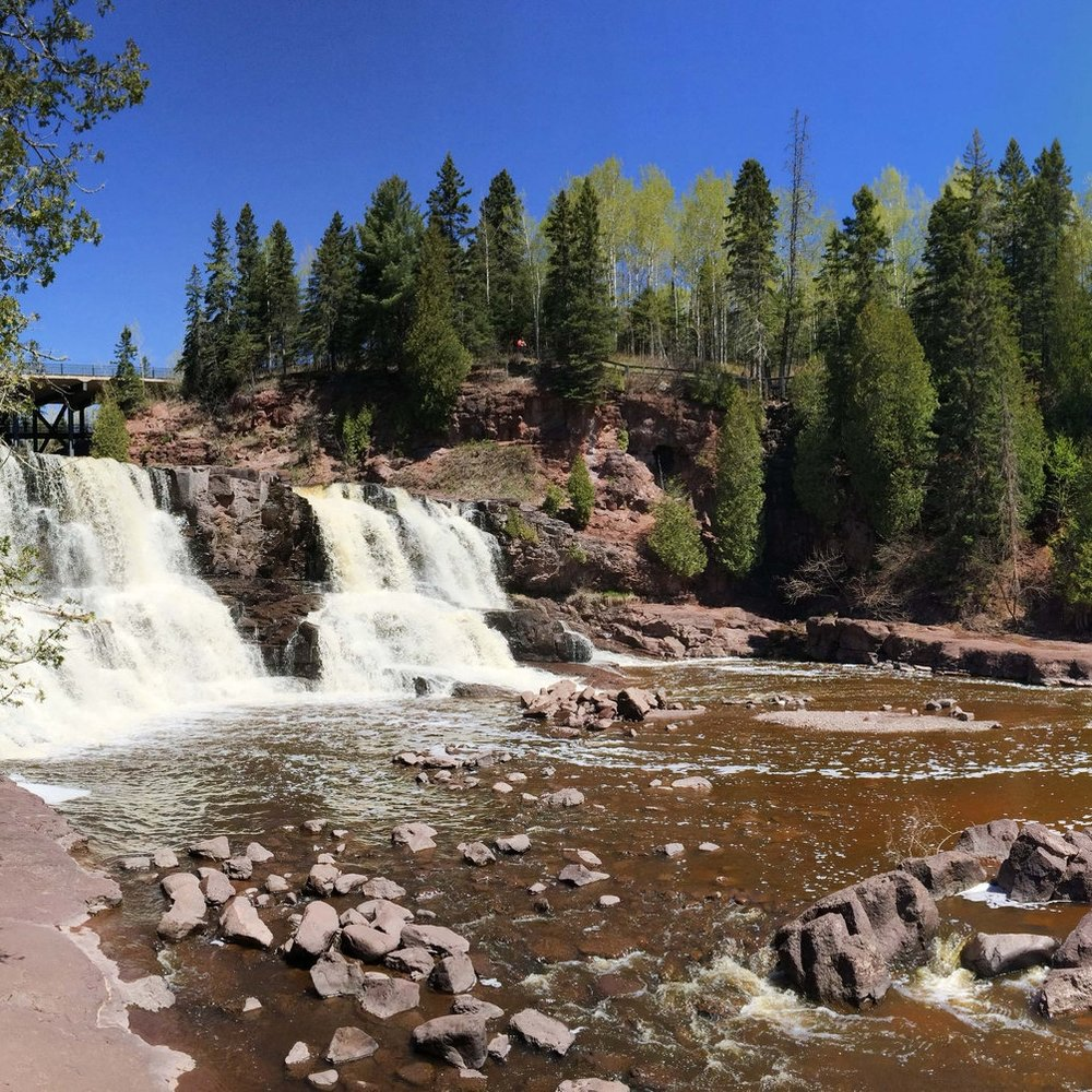 Gooseberry Falls  by  Katie Cannon  for Ready & Roam
