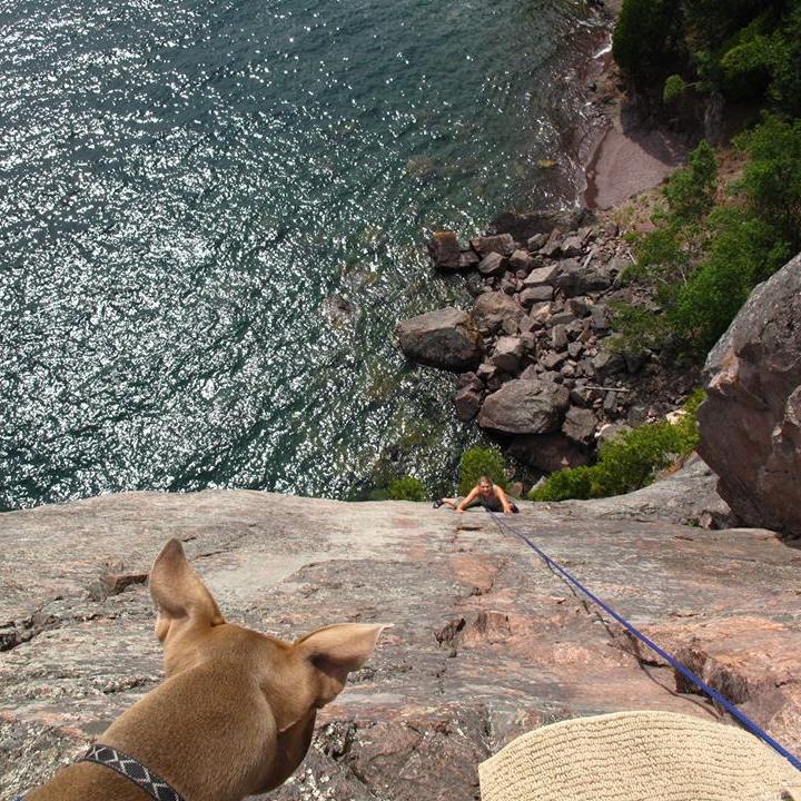 Rock Climbing with  Spirit Guiding Adventures