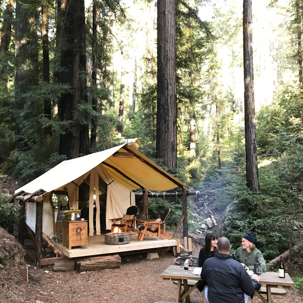 Glamping In Big Sur California Ventana Big Sur Ideas