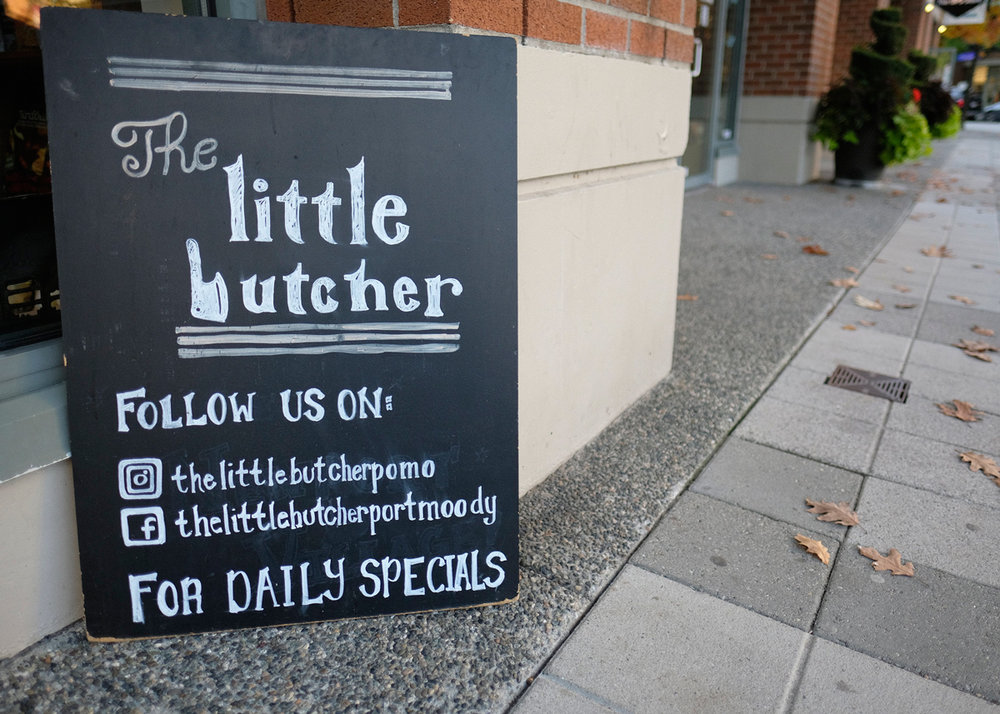 Follow The Little Butcher on Instagram  @thelittlebutcherpomo  or  Facebook/thelittlebutcherpomo .