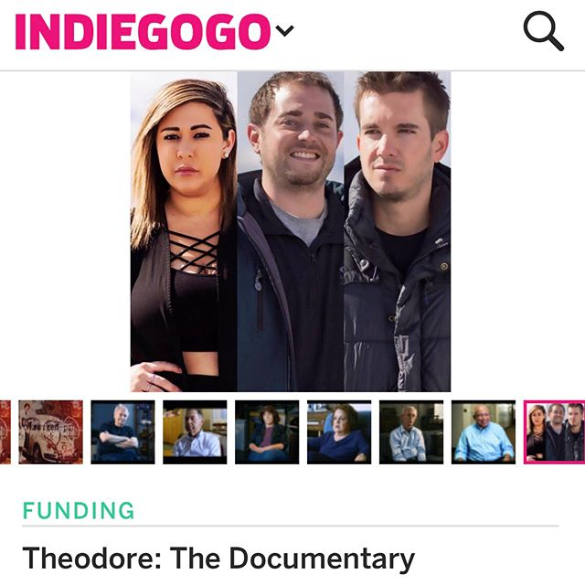Don't forget to support Celene Beth and her team on their Indiegogo campaign for Theodore! They've raised about 80% of their goal so far. The link to donate is in their bio @theodorethedocumentary.  And if you haven't already, be sure to listen to Episode 6 to hear all about Celene Beth's work on the documentary!