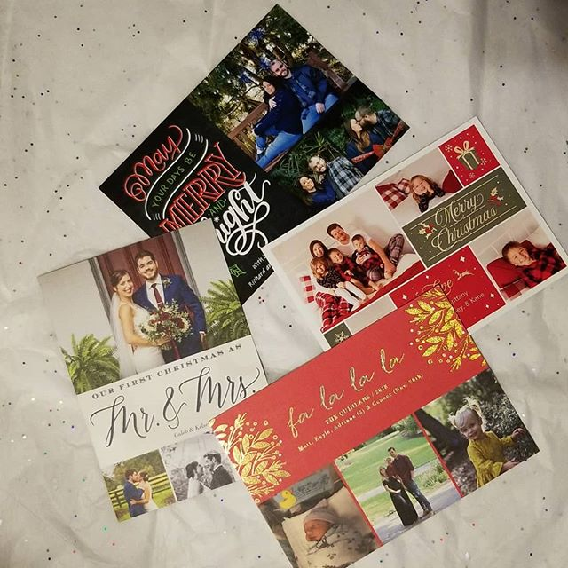 Christmas Time Favorite...getting cards from clients! I save them all! Here are a few from past and present!! I also love and save baby announcements (human and fur babies😁)!! 🤟💗💍😍 #loveyourjourney #weddings #weddingplanner #weddingplannerlife #events #eventplanner #eventplanning #eventlife #bosslady #wifelife #momlife