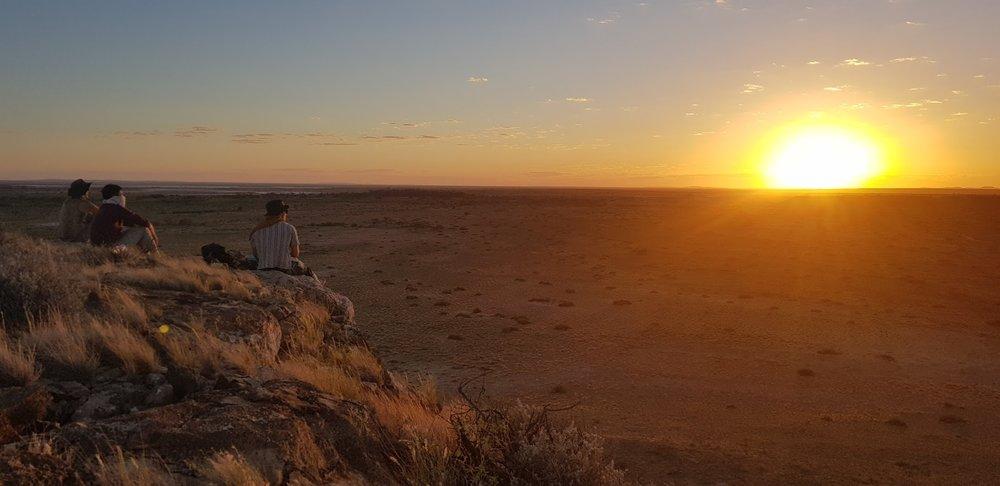 TTS 1. Sunrise from Dingo dreaming hill.jpg