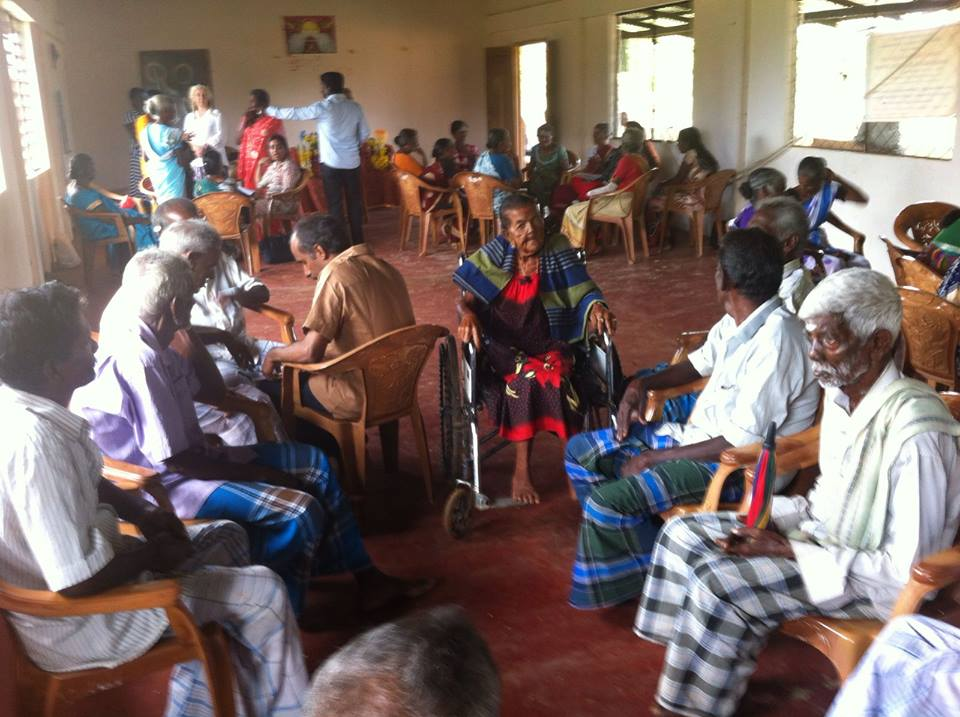 Our Elders Wisdom Club where they have a nutritious breakfast and enjoy getting together with each other and where they can let us know about any problems.