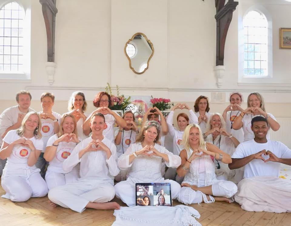 Recent Graduates of the Heart Meditation Facilitator Training Course