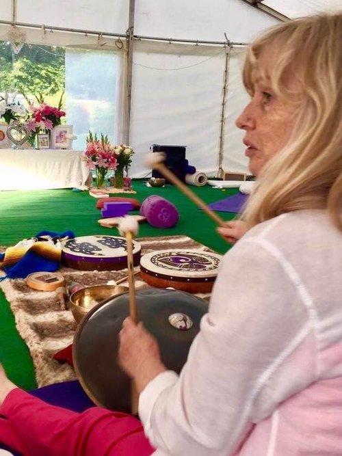 Anne Malone  Sound Therapy Trainer London