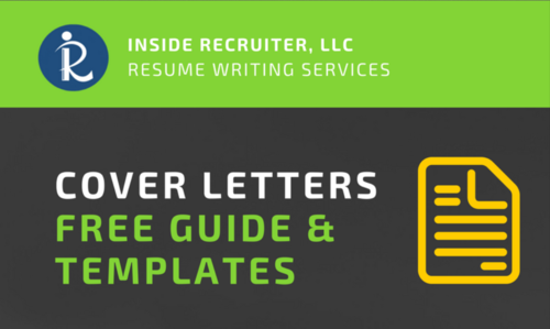 Cover Letter Landing Page — Professional Resume Writing Services ...