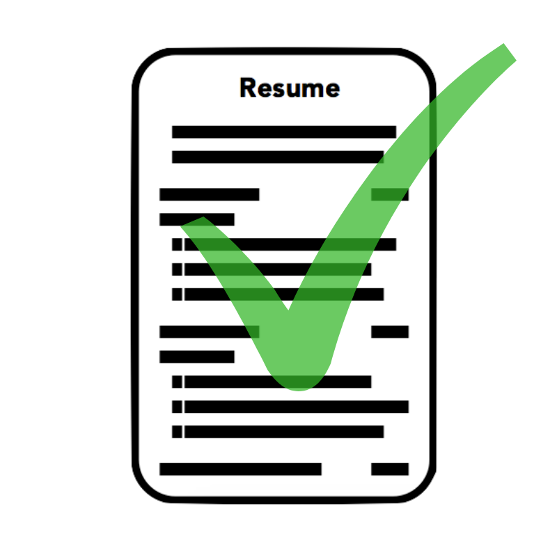 Symbol Professional Resume Simple Instruction Guide Books