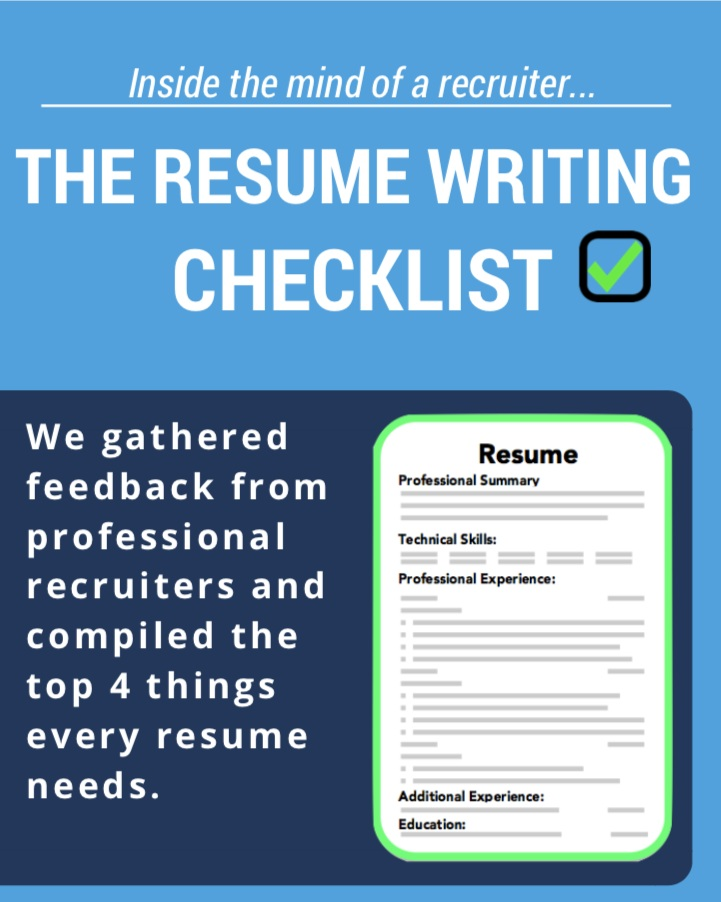 Free Resume Writing Guide - Our team of recruiters collaborated to create this quick guide to help your resume stand out from the competition.