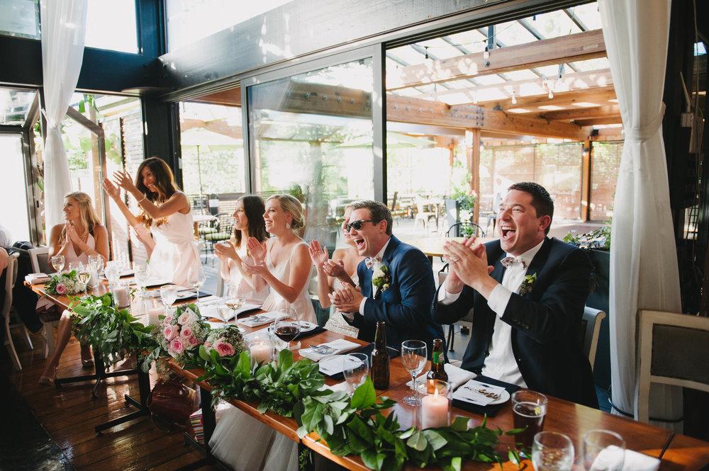 Vancouver Wedding Photographer - Bridal Party Reception