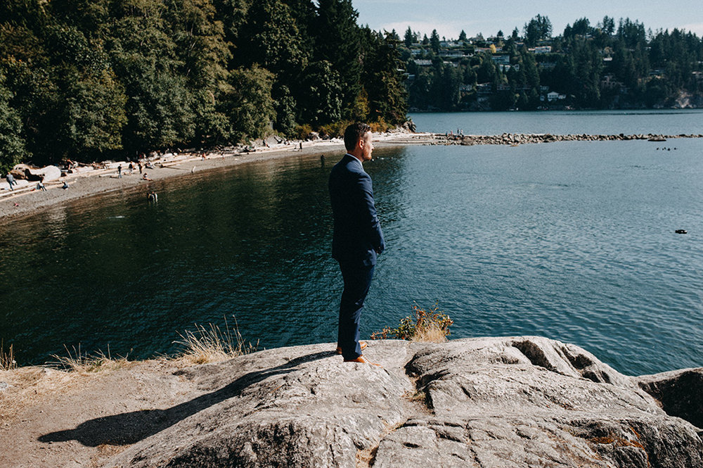 Whytecliff Park - Vancouver wedding - Jayme Lang