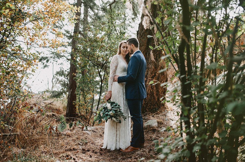 Vancouver forrest wedding - Jayme Lang