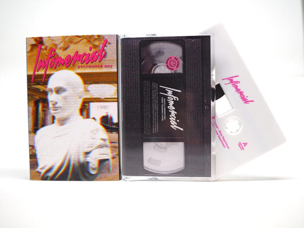 LIMITED EDITION DELUXE INFOMERCIAL USA CASSETTES AVAILABLE NOW!