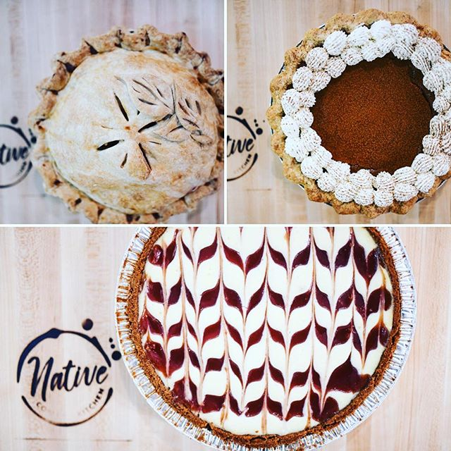 🦃🦃Turkey day is fast approaching and we have dessert covered.... Get your scratch made pies for pick-up Thanksgiving Eve at either location, orders can be placed through our website, phone, or in person. 🥧🥧 🥧Cranberry Cheesecake $29 🥧Pumpkin Pie $19 🥧Apple Pie $24