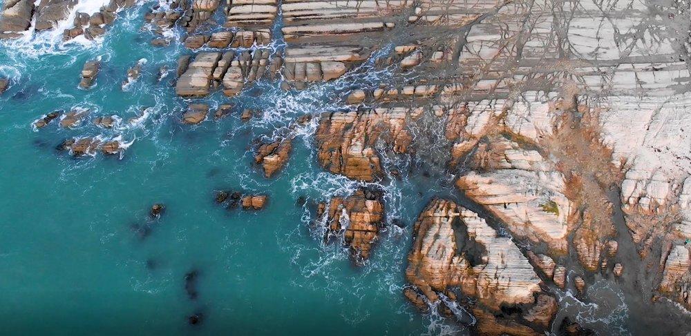 E.Three drone footage in Kaikoura.