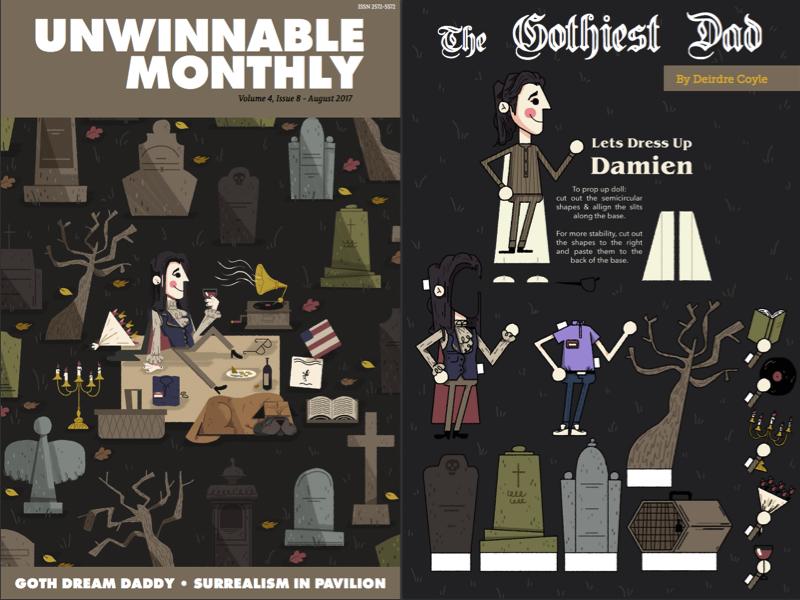 The Gothiest Dad - essay in Unwinnable