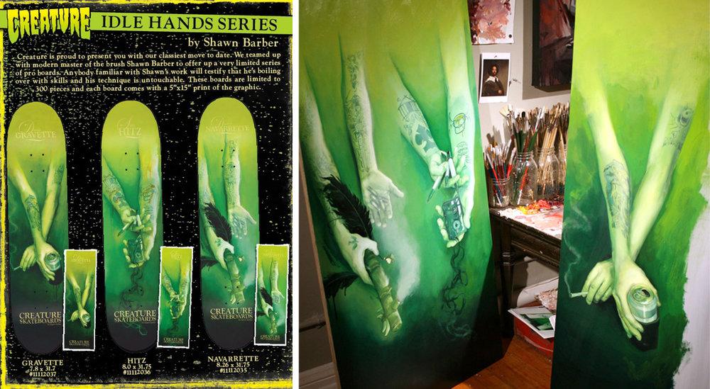 Creature Skateboards, Artist signature series, 2010
