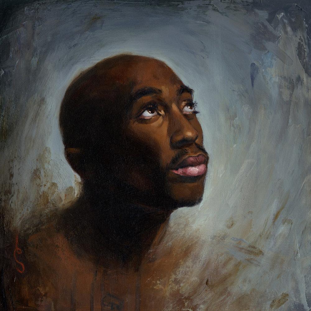 'Tupac Shakur', for Rolling Stone Magazine, 2004