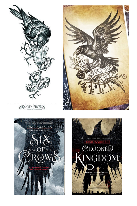Interior Illustrations for Leigh Bardugo's 'Six of Crows' and 'Crooked Kingdom', 2017-2018