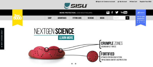 Fierce Digital LLC SISU Mouthguard