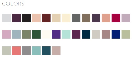 Pictured left to right in order of the drop down menu.Product colors may vary from colors shown on your monitor.