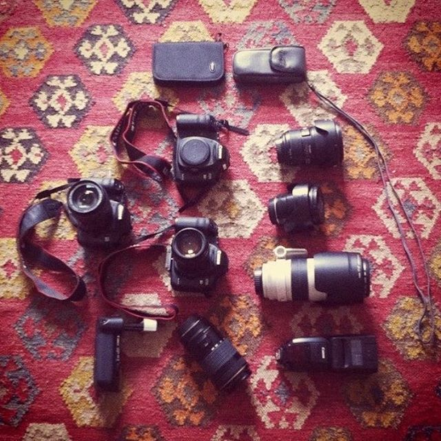 Gearing up for a new body of work.  #fineartphotography  #photos  #santabarbara #gear #canongirl