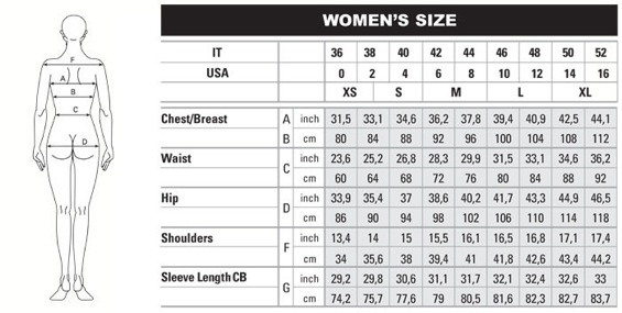 Measurements listed in American and European Sizes. When ordering please select the size closet to your measurements to ensure a proper fit.
