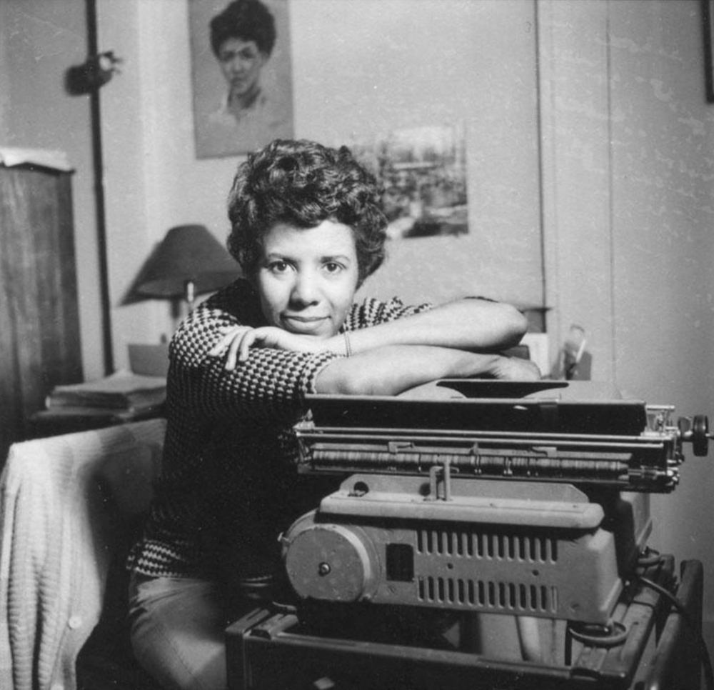 """Lorraine Vivian Hansberry  (May 19, 1930 – January 12, 1965) was an African American playwright and writer.  She was the first black woman to write a play performed on Broadway.Her best known work, the play A Raisin In The Sun, highlights the lives of black americans living under racial segregation in Chicago. Hansberry's family had struggled against segregation, challenging a  restrictive covenant and eventually provoking the Supreme Court case  Hansberry v. Lee . The title of the play was taken from the poem """" Harlem """" by  Langston Hughes : """"What happens to a dream deferred? Does it dry up like a raisin in the sun?""""  At the young age of 29, she won the New York's Drama Critic's Circle Award — making her the first black dramatist, the fifth woman, and the youngest playwright to do so.  After she moved to New York City, Hansberry worked at the Pan-Africanist newspaper Freedom, where she dealt with intellectuals such as  Paul Robeson and  W. E. B. Du Bois . Much of her work during this time concerned the African struggle for liberation and their impact on the world. Hansberry has been identified as a lesbian, and sexual freedom is an important topic in several of her works. She died of cancer at the age of 34. Hansberry inspired Nina Simone's song """" To Be Young, Gifted and Black """"."""