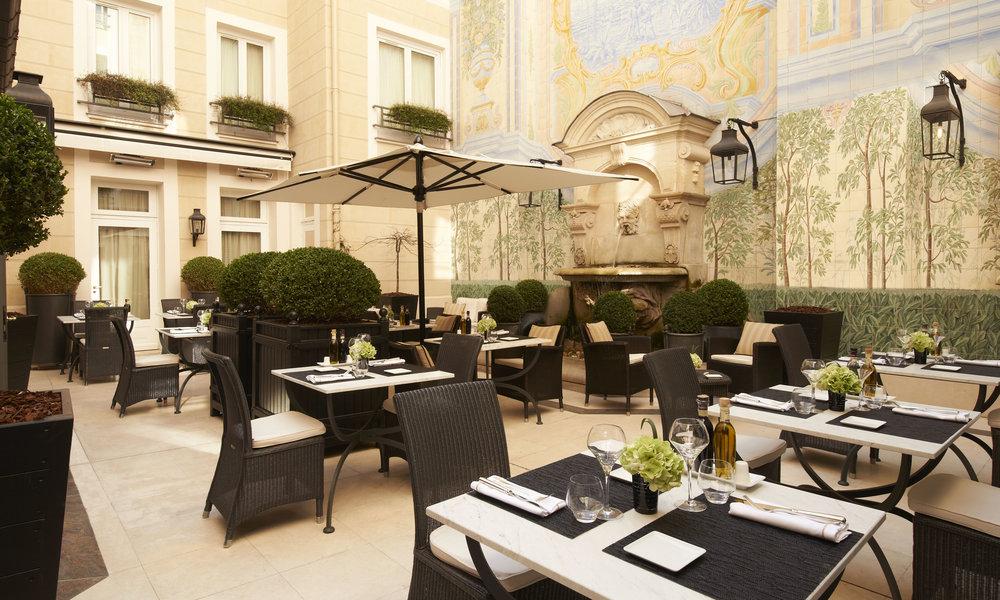Hotel Castille, Paris, France -