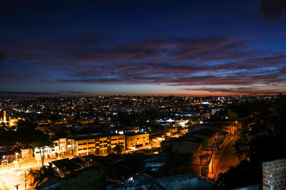 por do dol (sunset) in Atibaia, São Paulo