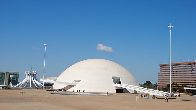 ***NOT MY PICTURE*** The National Museum, Brasília