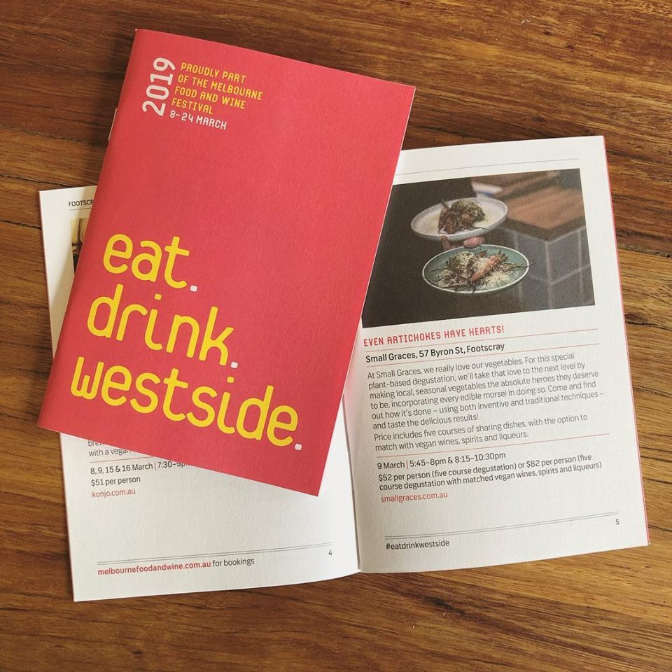 Grab a copy of the Eat Drink Westside guide for more info about our event!