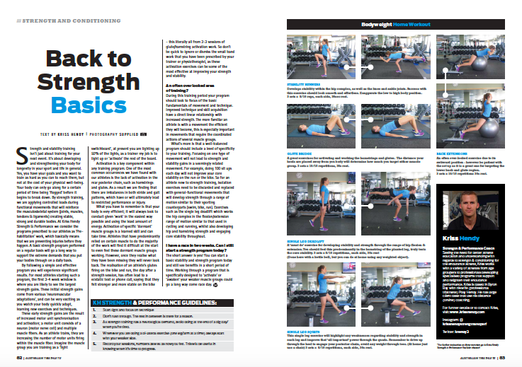 Back to Strength Basics -