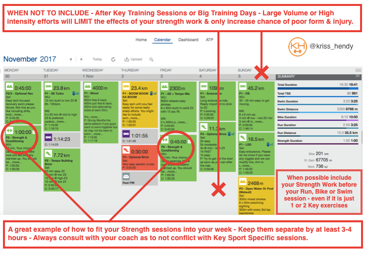 sample training program