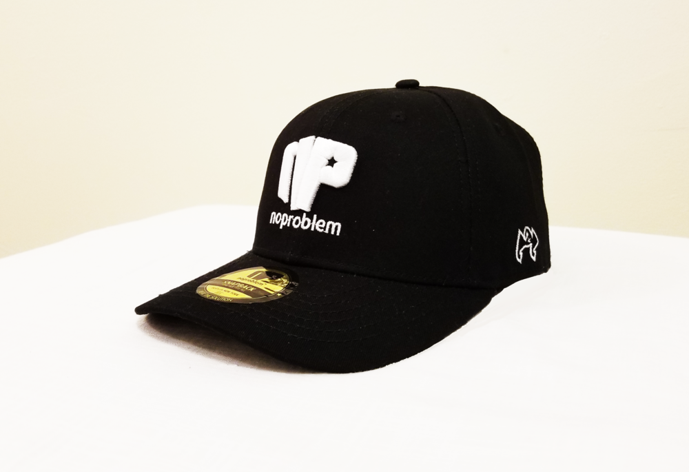 Noproblem-Caps-Black&White-2.png