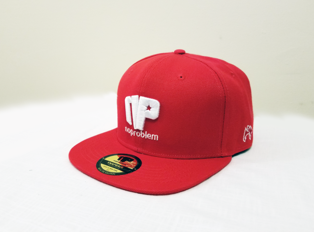 Noproblem-Caps-Red&White.png
