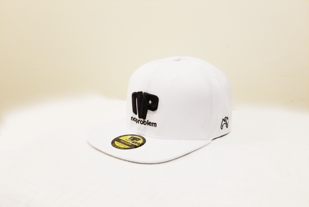 Noproblem-Caps-White&Black.png