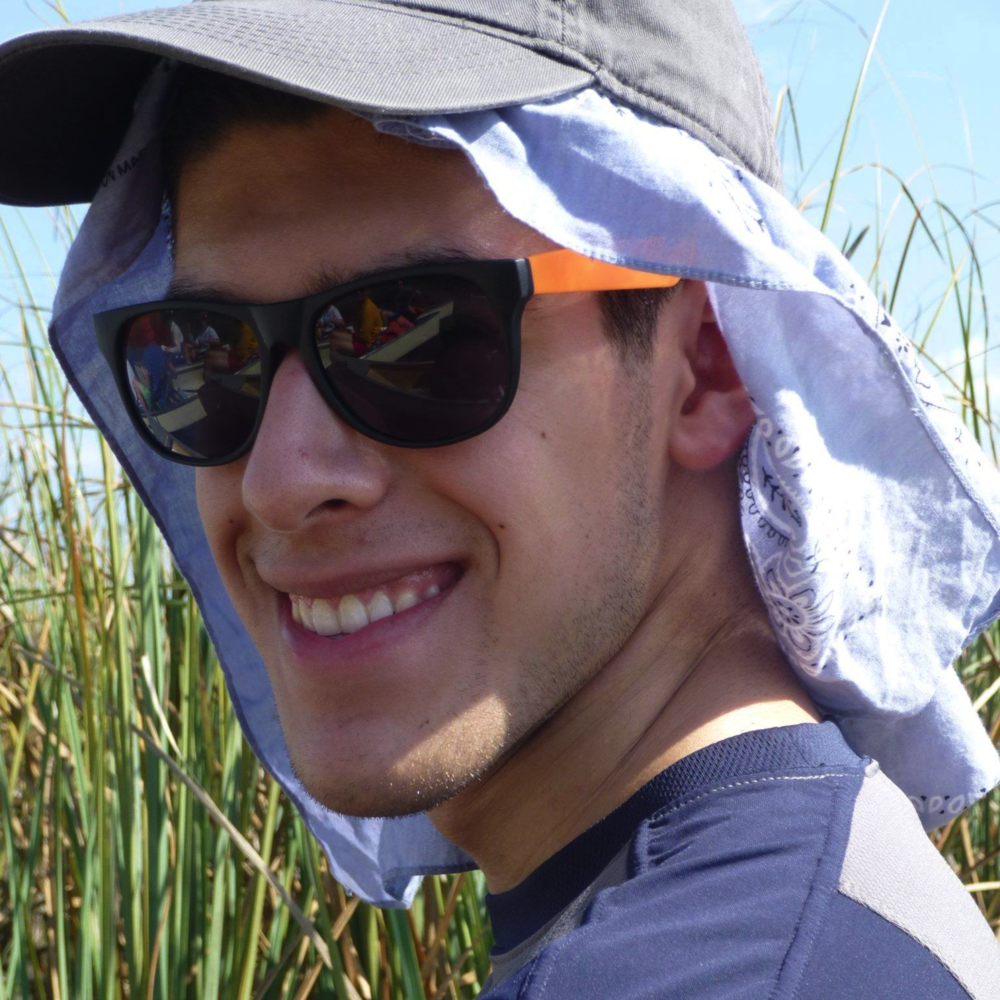 Jorge Reyes (MAE '19) is passionate about promoting human wellness and sustainability through the application of engineering and technology. He has been involved with wind turbine testing, spine board development, and robotics projects.