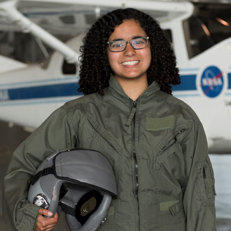 Nina Arcot  (MAE '20) is the vice president of community and outreach of the Princeton Rocketry Club. She has interests in space exploration and materials science and engineering, and she has completed internships at the NASA Langley Research Center and the Princeton High Contrast Imaging Lab.