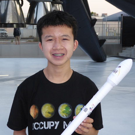 Douglas   Chin  (MAE '21) is the vice president of launch operations for the Princeton Rocketry Club. He hopes to help mankind achieve its interstellar potential. He has his L2 certification and wants to fly even higher. He looks forward to many new experiences in PRC and aerospace.