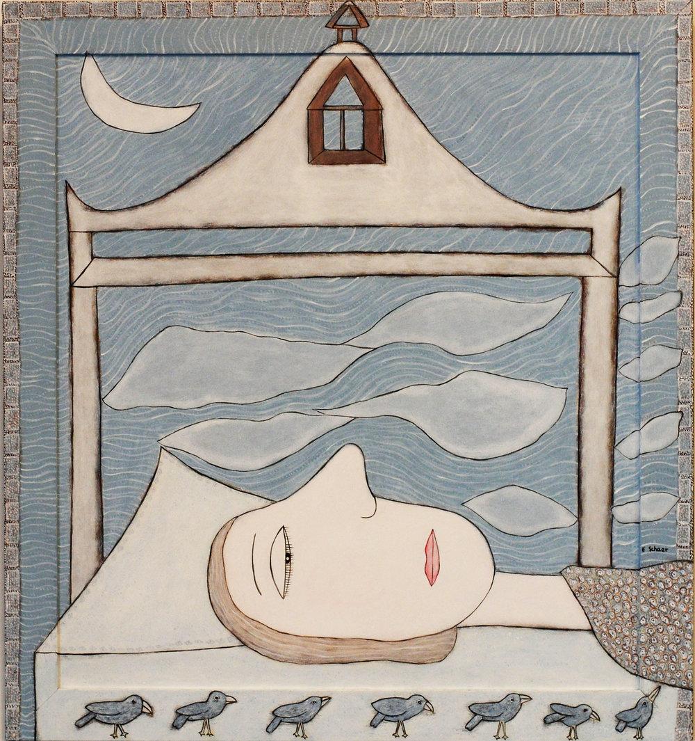 2. Eileen Schaer'Lady Dreaming' 70cms x 65 cms.jpg
