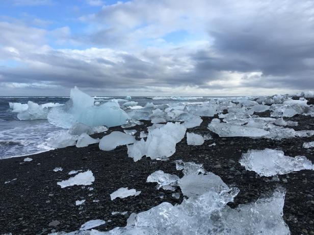 Jökulsárlón Glacier冰河湖出海口 – Photo credit 蔡君平