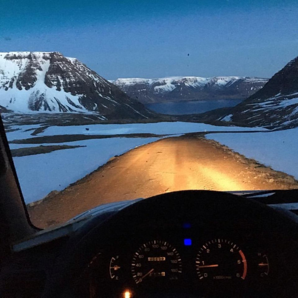 Way back home – Photo credit Arctic Surfers